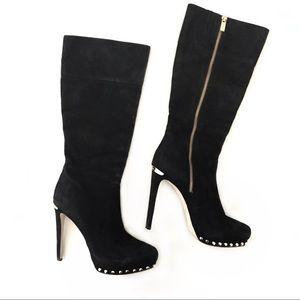 Michael Kors studded stiletto heeled boots size 7